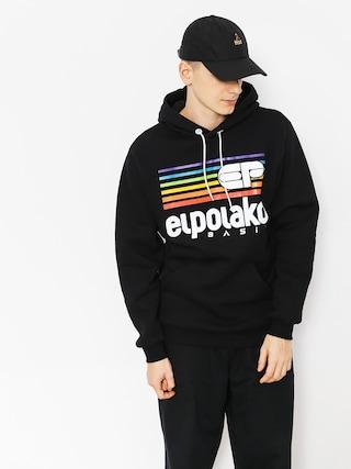 Bluza z kapturem El Polako Rainbow HD (black)
