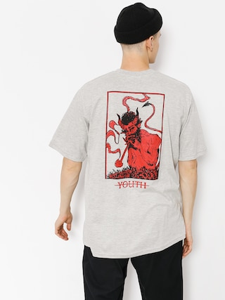 T-shirt Youth Skateboards Devil (grey)