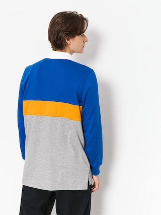 Polo adidas Heritge Plo (collegiate royal/core heather/tactile yellow/white)