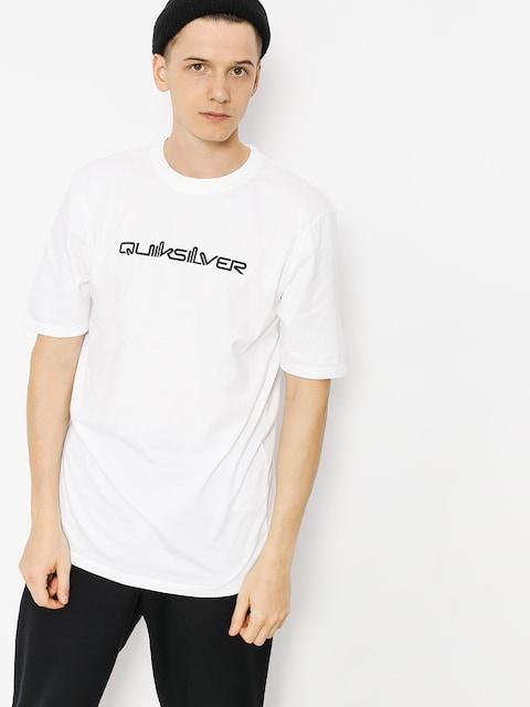 T-shirt Quiksilver Original Quik Col (white)