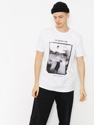 T-shirt Quiksilver Wave Party (white)