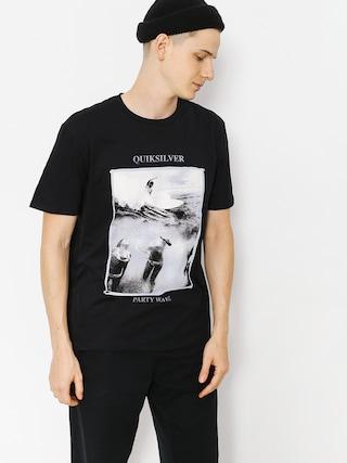 T-shirt Quiksilver Wave Party (black)