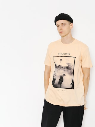 T-shirt Quiksilver Wave Party (peach parfait)