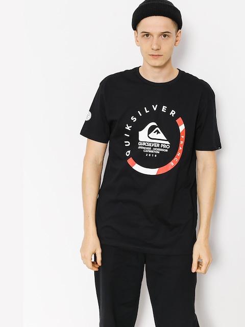 T-shirt Quiksilver Quik Pro Frt 18 (black)