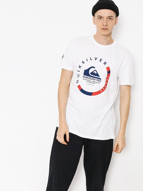 T-shirt Quiksilver Quik Pro Frt 18 (white)