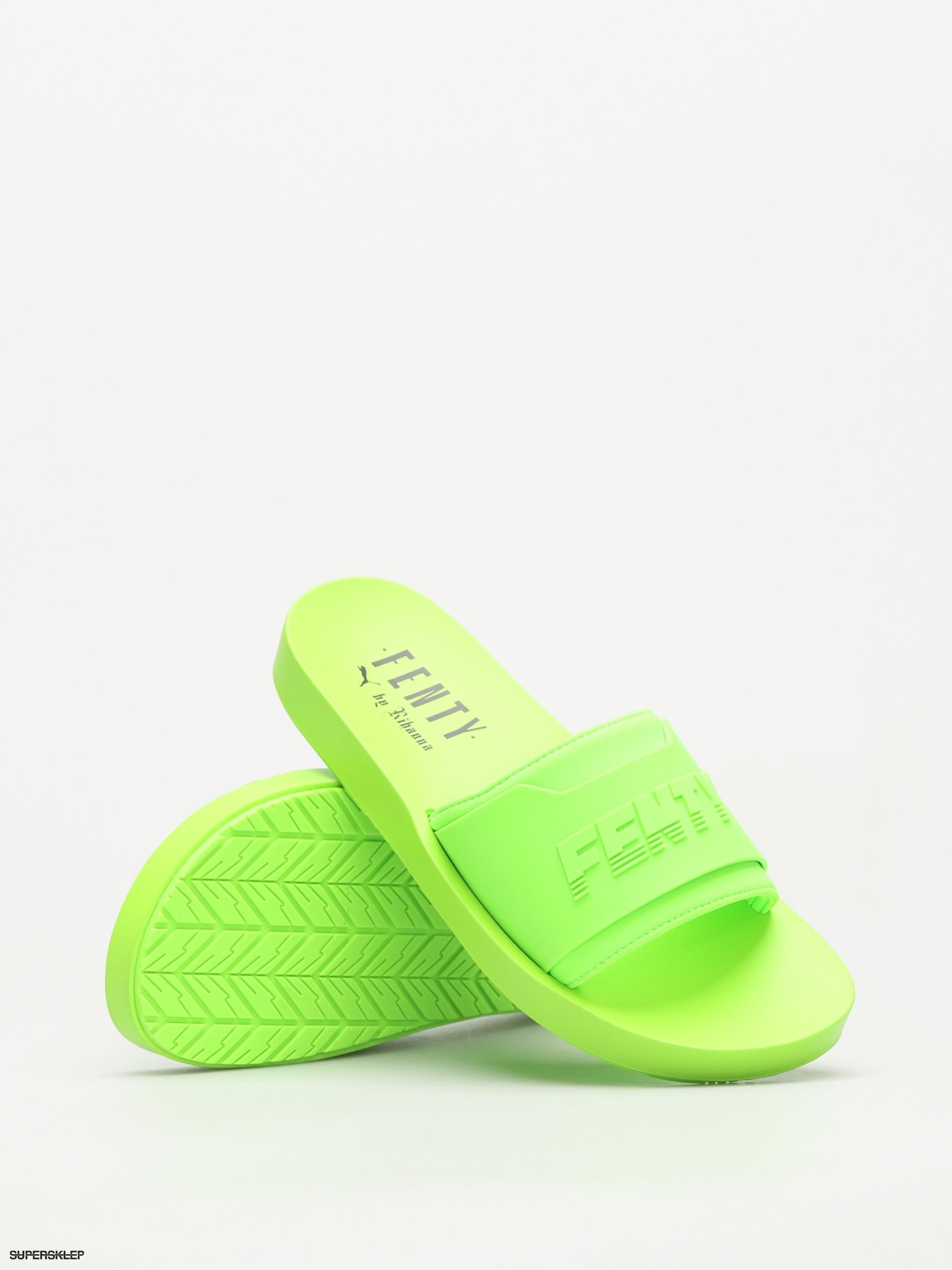 Klapki Puma Fenty Surf Slide Wmn (green geckogreen gecko)