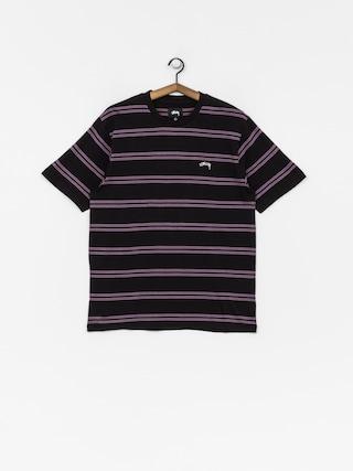 T-shirt Stussy Double Stripe (black)