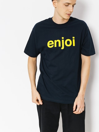 T-shirt Enjoi Helvetica Logo Price Point (navy)