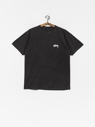 T-shirt Stussy 8 Ball Pig Dyed (black)