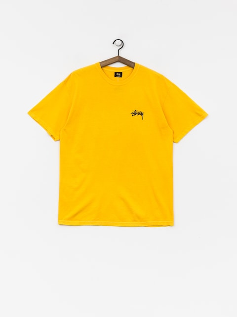 T-shirt Stussy 8 Ball Pig Dyed (gold)