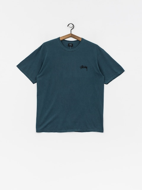 T-shirt Stussy 8 Ball Pig Dyed (slate)