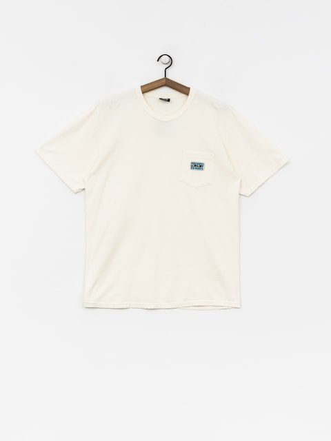 T-shirt Stussy Red Eyes Pig Dyed Pkt (natural)