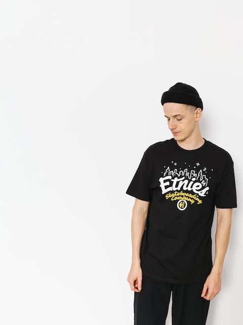 T-shirt Etnies City Lights (black)