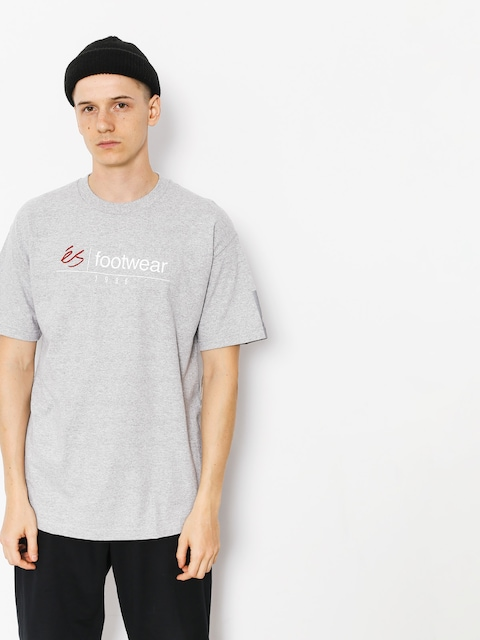 T-shirt Es Heritage Stack (grey/heather)