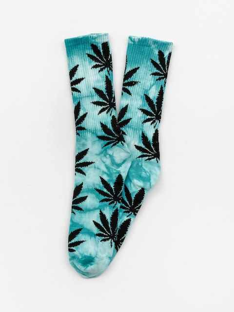 Skarpetki HUF Plantlife Tie Dye (jade)