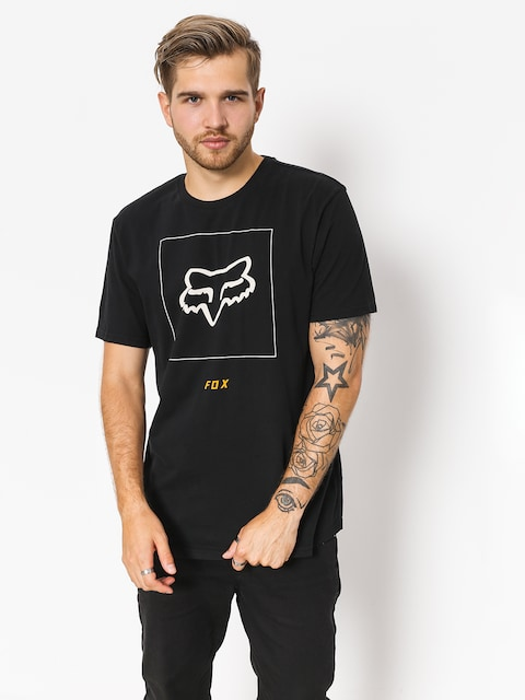 T-shirt Fox Crass (blk/gry)