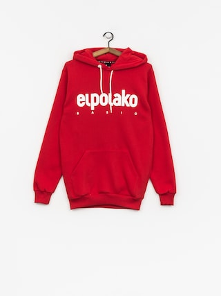 Bluza z kapturem El Polako Classic HD (red)