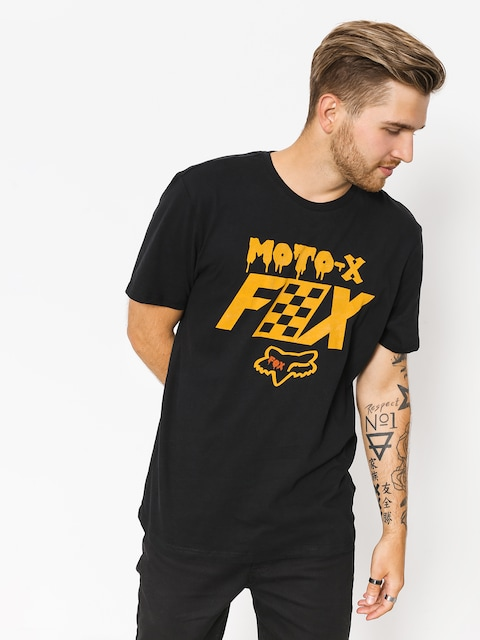 T-shirt Fox Czar (blk/gry)