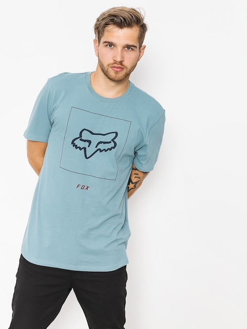 T-shirt Fox Crass (blu/gry)
