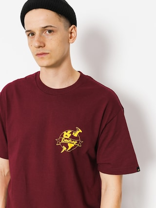 T-shirt Emerica Nailed (burgundy)