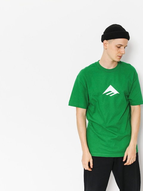 T-shirt Emerica Emerica Triangle (kelly green)