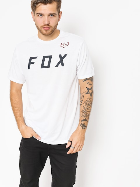 T-shirt Fox Grizzled (opt wht)