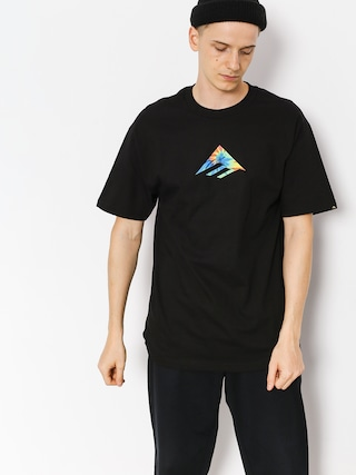 T-shirt Emerica Emerica Triangle (black/print)