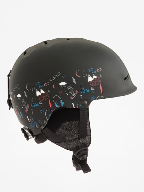 Kask Quiksilver Empire (maoam tatt black)
