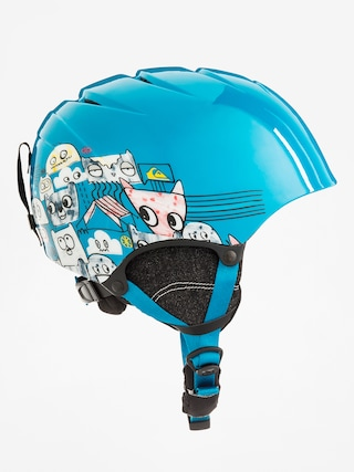 Kask Quiksilver The Game (animal part blue)