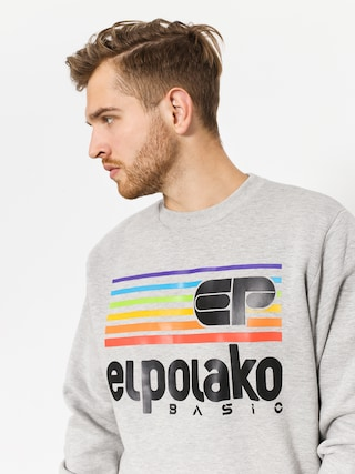 Bluza El Polako Rainbow (grey heather)