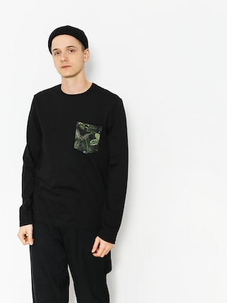 Longsleeve Malita Jungle Pocket (black)