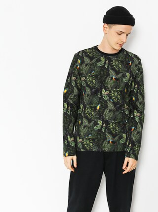 Longsleeve Malita Jungle (black/green)