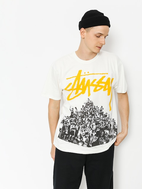 T-shirt Stussy Beach Mob Pig Dyed