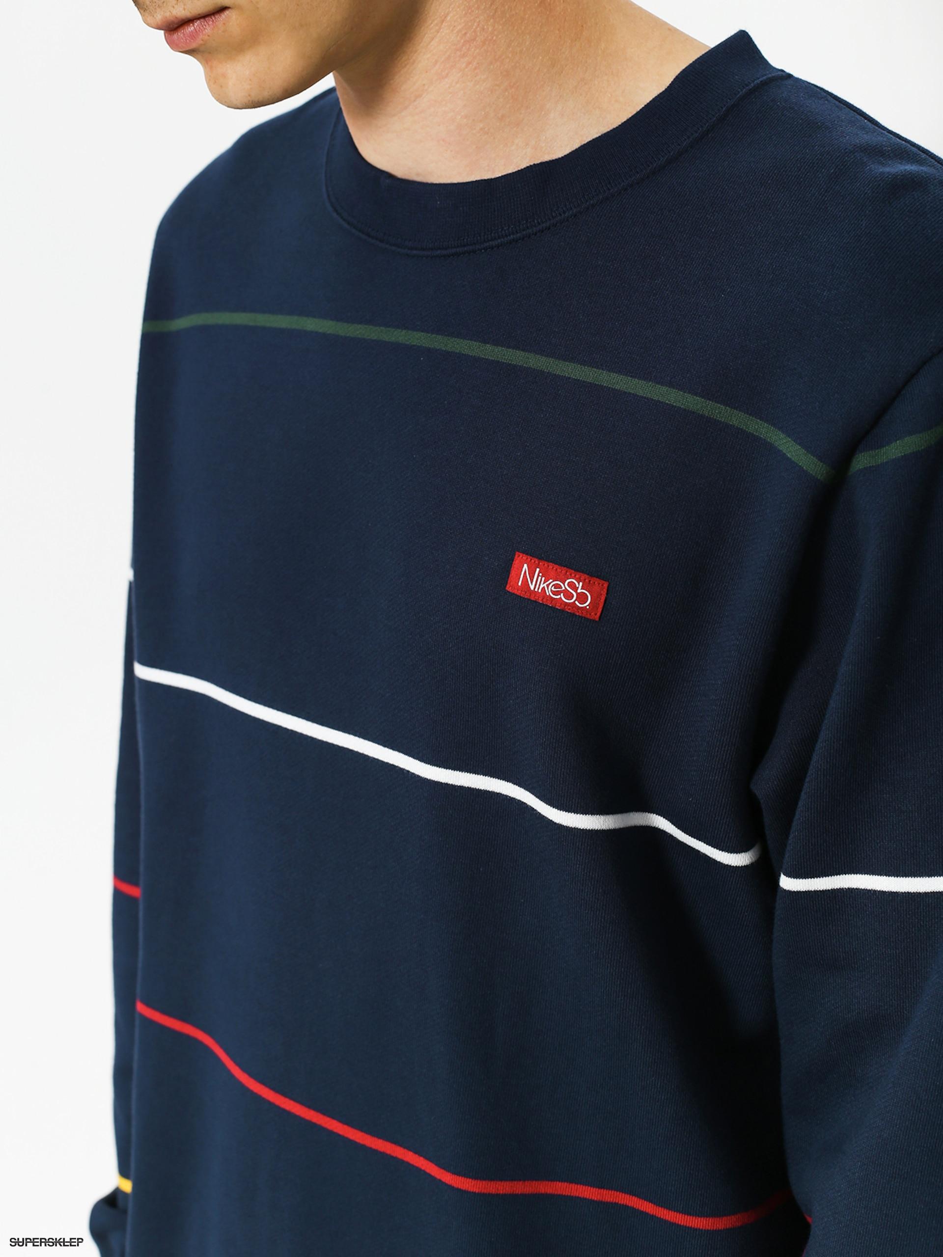 bluza Nike SB Everett obsidianred crush