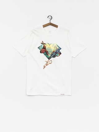 T-shirt Diamond Supply Co. Trinity (white)