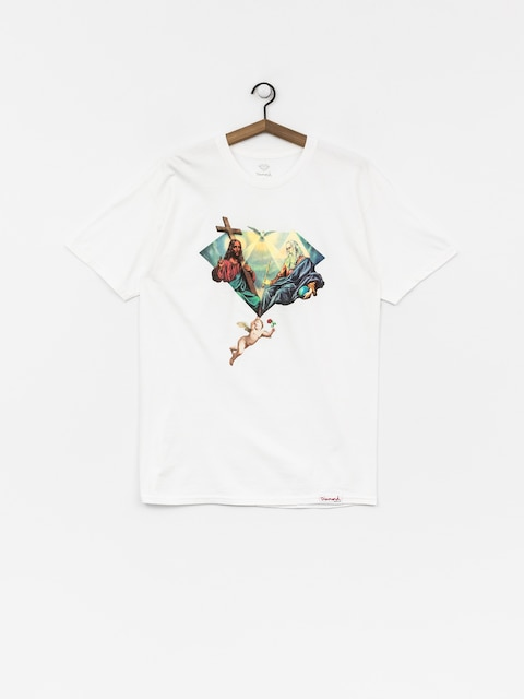 T-shirt Diamond Supply Co. Trinity