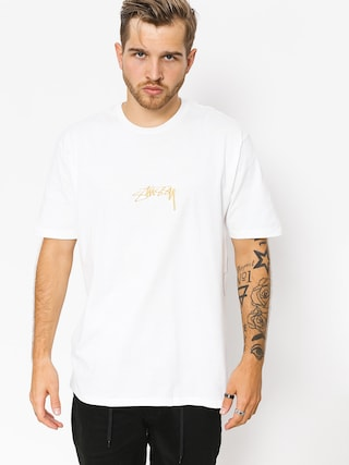 T-shirt Stussy Smooth Stock (white)