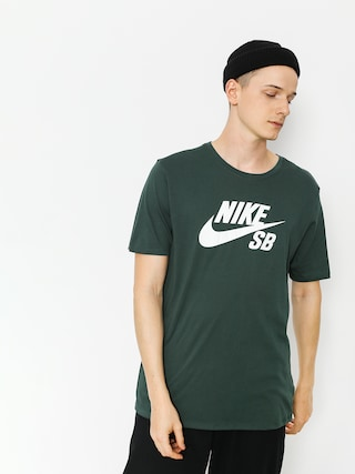 T-shirt Nike SB Sb Logo (midnight green/white)