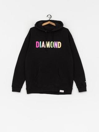 Bluza z kapturem Diamond Supply Co. Colour Pop HD (black)