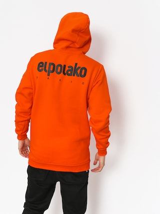 Bluza z kapturem El Polako Little Classic HD (orange)