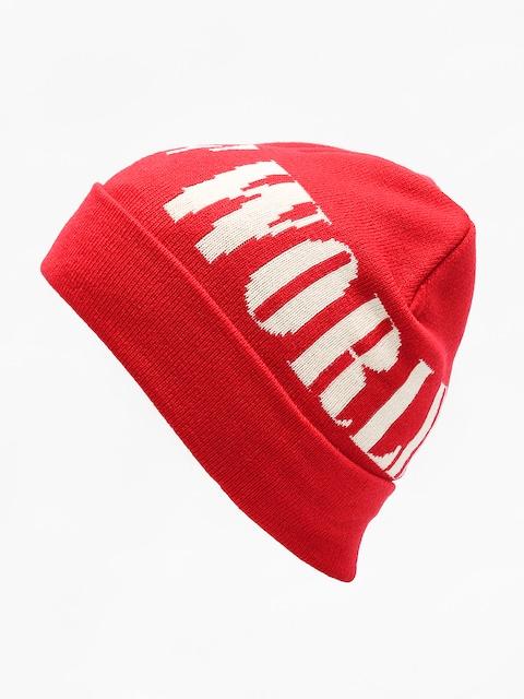 Czapka zimowa HUF Serif (scarlet)