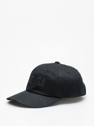 Czapka z daszkiem HUF Team Curved Visor 6 Pannel ZD (black)