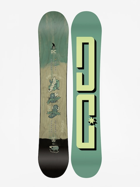 Deska snowboardowa DC Pbj (green/lime)