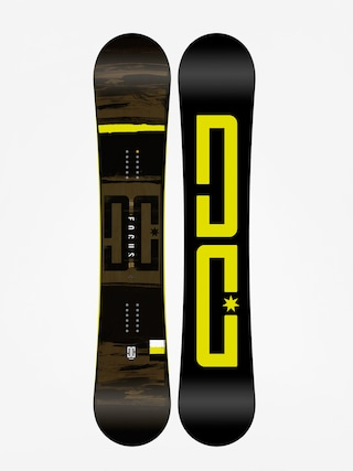 Deska snowboardowa DC Focus (black/lime)