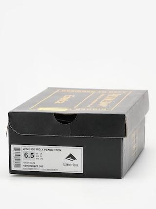 Buty Emerica Wino G6 Mid X Pendleton (grey/gum)