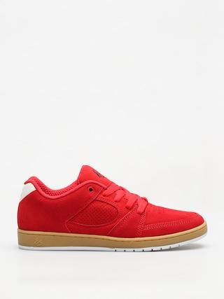 Buty Es Accel Slim (red/gum)