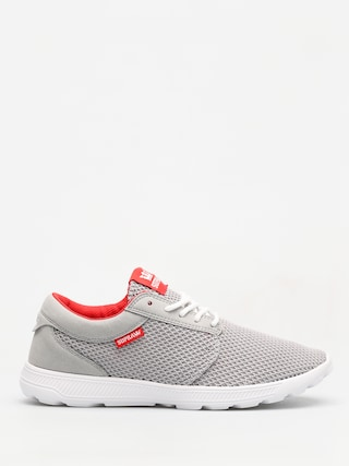 Buty Supra Hammer Run (lt grey/risk red white)