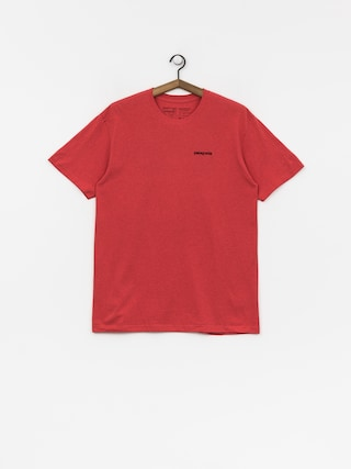 T-shirt Patagonia Logo Responsibili (tomato)