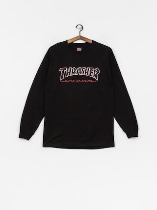 Longsleeve Independent x Thrasher Ttg (black)