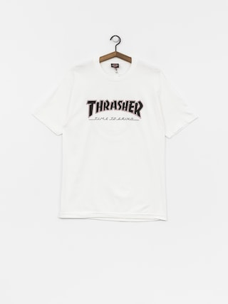 T-shirt Independent x Thrasher Ttg (white)